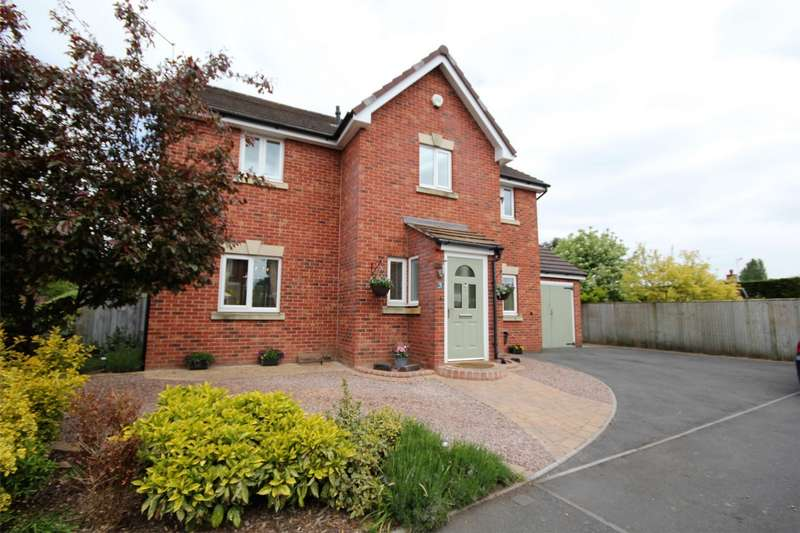 5 Bedrooms Detached House for sale in Baradene Lane, Rushwick, Worcester