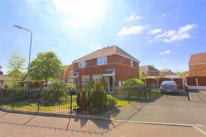 3 Bedrooms Semi Detached House for sale in Scorpio Close, Knotty Ash, Liverpool
