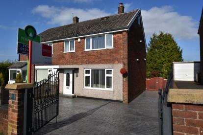 4 Bedrooms Semi Detached House for sale in St. Lawrence Avenue, Lammack, Blackburn, Lancashire