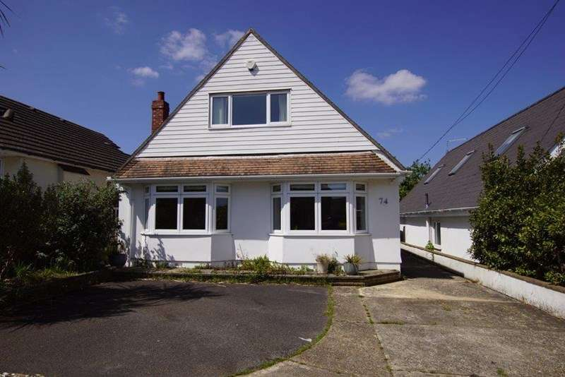 3 Bedrooms Chalet House for sale in Sherwood Avenue, Whitecliff, POOLE