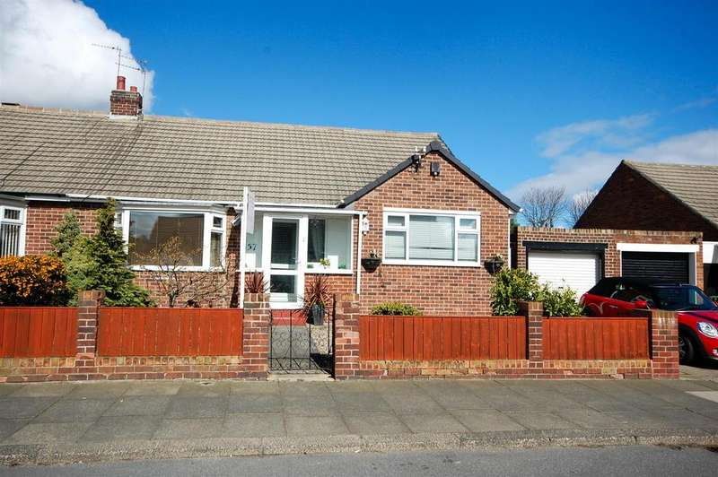 2 Bedrooms Semi Detached Bungalow for sale in Crosslea Avenue, Sunderland