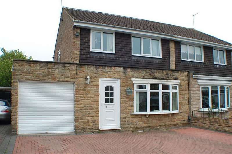 3 Bedrooms Semi Detached House for sale in Caraway Walk, South Shields, South Shields