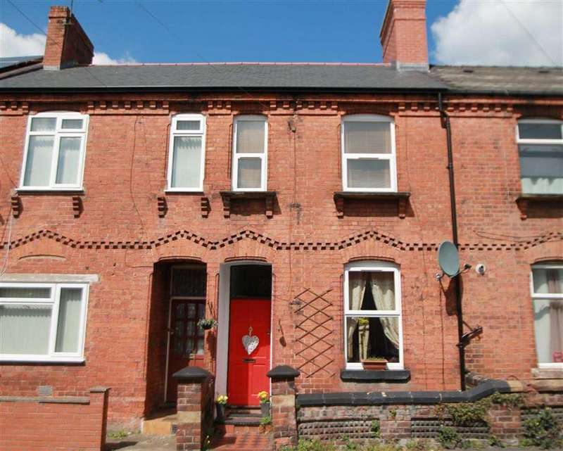 2 Bedrooms Terraced House for sale in Trevor Street, Wrexham, Wrexham