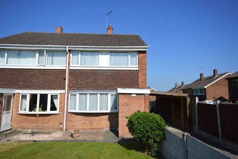 3 Bedrooms Semi Detached House for sale in Westwood Park, Newhall, Swadlincote, DE11