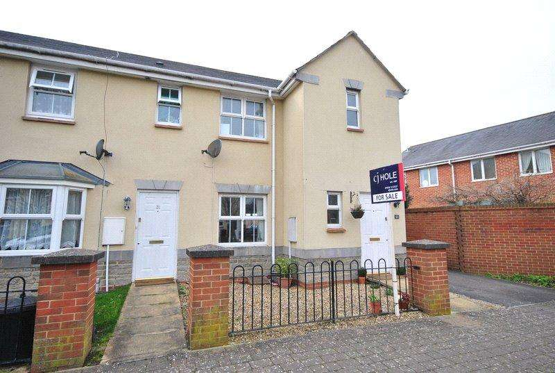 3 Bedrooms End Of Terrace House for sale in Vale Mill Way, Weston Village, Weston-super-Mare, North Somerset, BS24