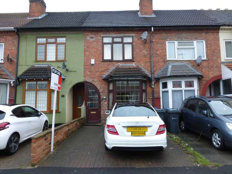 3 Bedrooms Terraced House for sale in Bromyard Road, Sparkhill, Birmingham B11