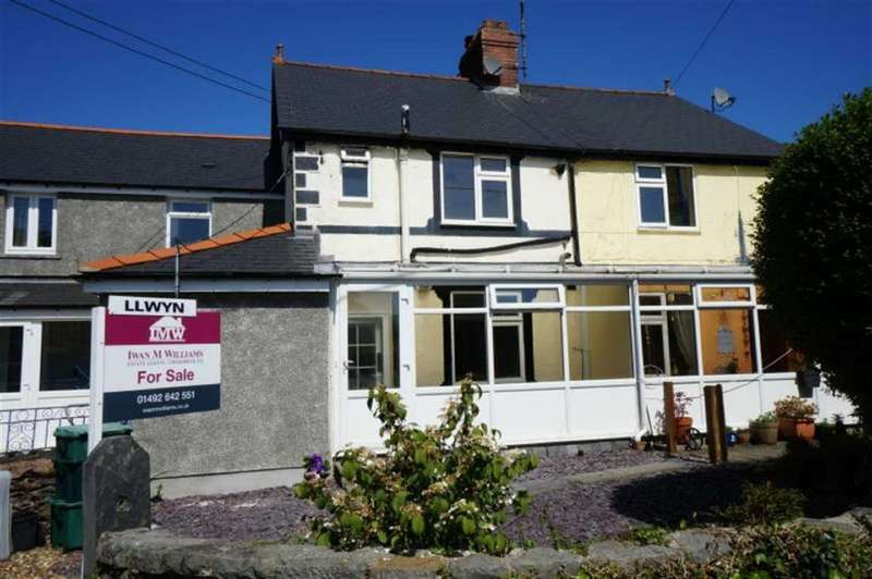2 Bedrooms Terraced House for sale in Gower Road, Trefriw, Conwy