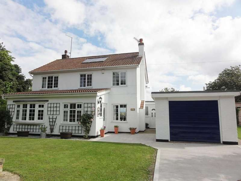 4 Bedrooms Detached House for sale in Poplar Cottage, Shore Road, Garthorpe, DN7 4AD