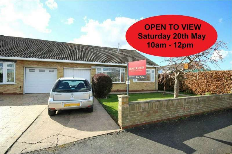 2 Bedrooms Semi Detached Bungalow for sale in The Hollies, Willerby, Hull, East Riding of Yorkshire