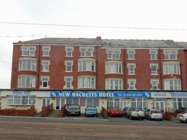 100 Bedrooms Hotel Gust House for sale in Queens Promenade North Shore Blackpool