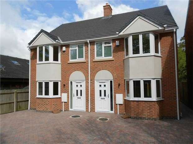 3 Bedrooms Semi Detached House for sale in Old Hinckley Road, Nuneaton, Warwickshire