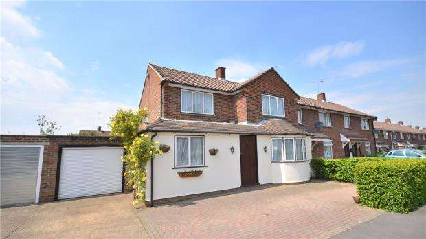 4 Bedrooms End Of Terrace House for sale in Shelley Avenue, Bracknell, Berkshire