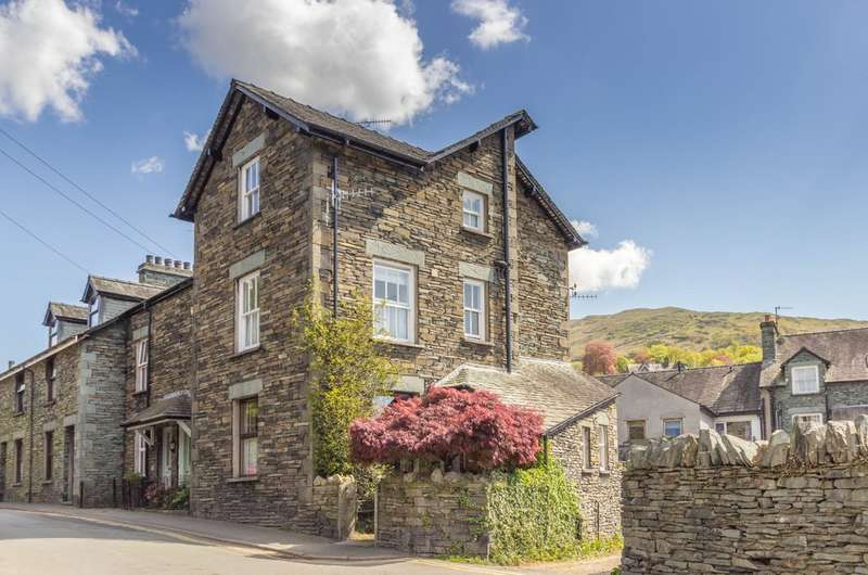 5 Bedrooms End Of Terrace House for sale in Park View, 5 Vicarage Road, Ambleside
