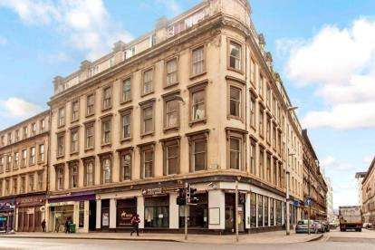 2 Bedrooms Flat for sale in Argyle Street, Glasgow City Centre