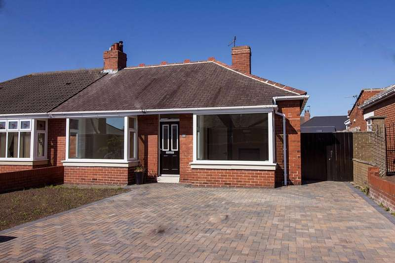 2 Bedrooms Bungalow for sale in Robinson Gardens, Wallsend, NE28