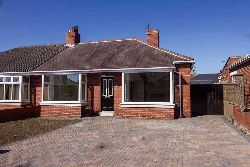 2 Bedrooms Bungalow for sale in Robinson Gardens, Wallsend, NE28