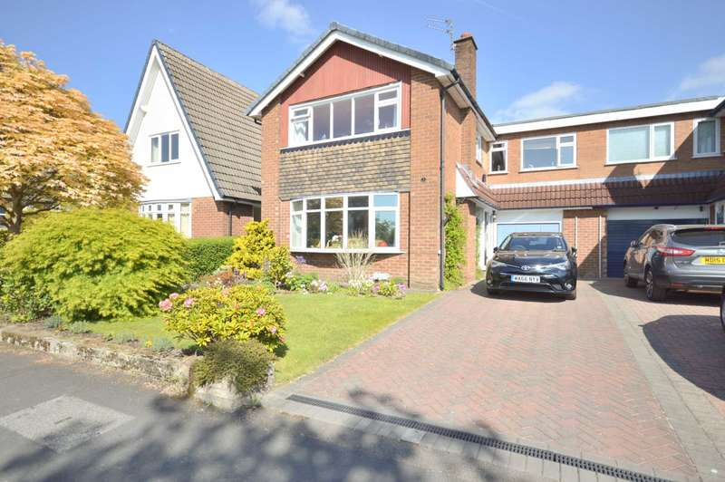5 Bedrooms Link Detached House for sale in ESKDALE AVENUE, Bramhall