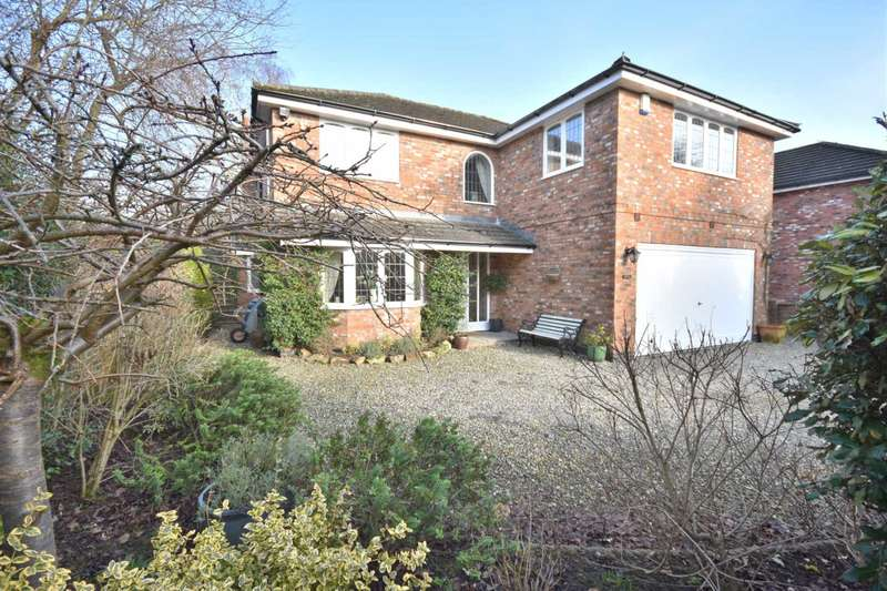 4 Bedrooms Detached House for sale in LOSTOCK HALL ROAD, POYNTON