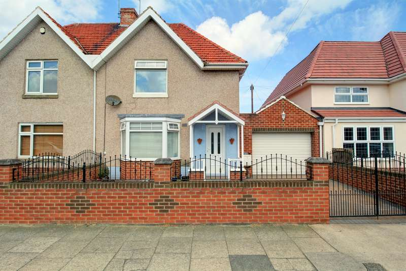 3 Bedrooms Semi Detached House for sale in Atkinson Road, Fulwell, Sunderland, SR6 9AY