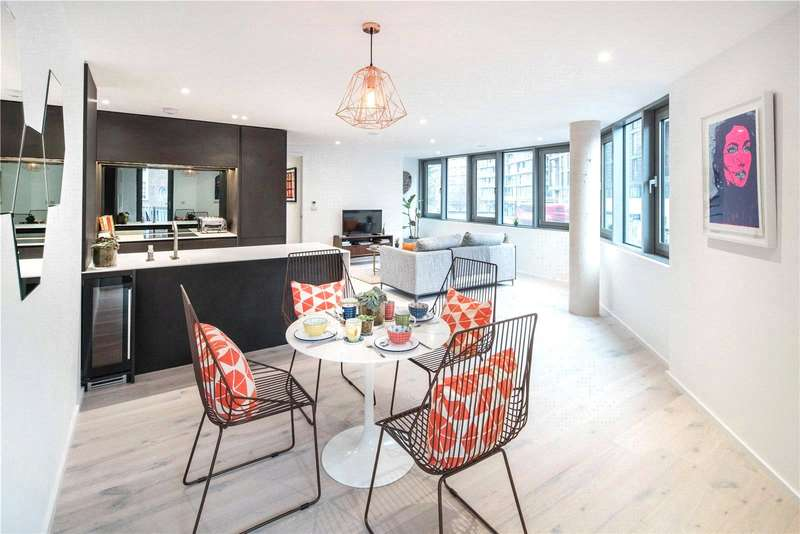 2 Bedrooms Flat for sale in East Road, London, N1