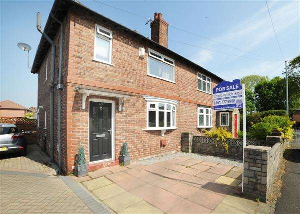 3 Bedrooms Semi Detached House for sale in 63 Marlborough Road, Irlam M44 6HJ