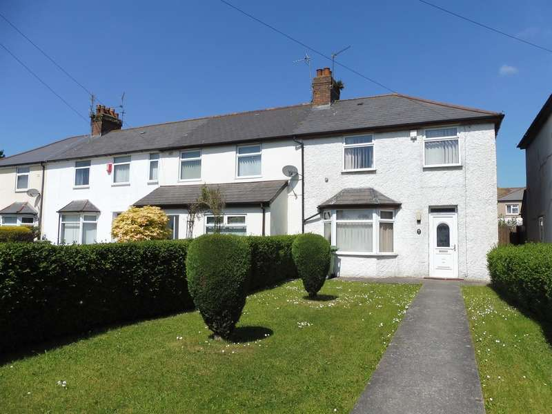 3 Bedrooms Semi Detached House for sale in Dessmuir Road, Cardiff