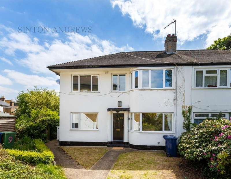 2 Bedrooms Flat for sale in Grafton Close, Ealing, W13