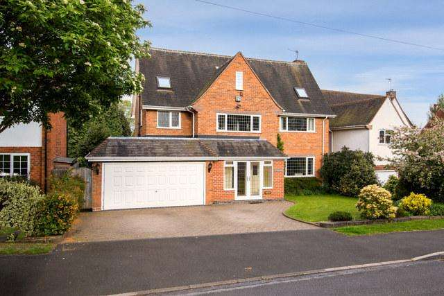 6 Bedrooms Detached House for sale in Brooks Road,Wylde Green,Sutton Coldfield