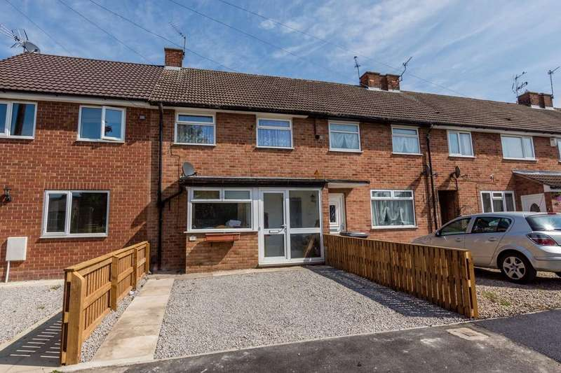 2 Bedrooms Terraced House for sale in Woodford Place, Acomb, YORK