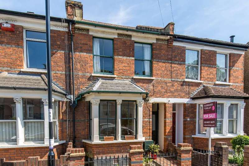 2 Bedrooms Terraced House for sale in Churchill Road, South Croydon, Surrey, CR2 6HE