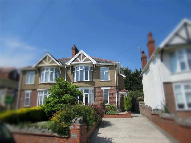3 Bedrooms Semi Detached House for sale in Serecold Avenue, Skewen, Neath, West Glamorgan