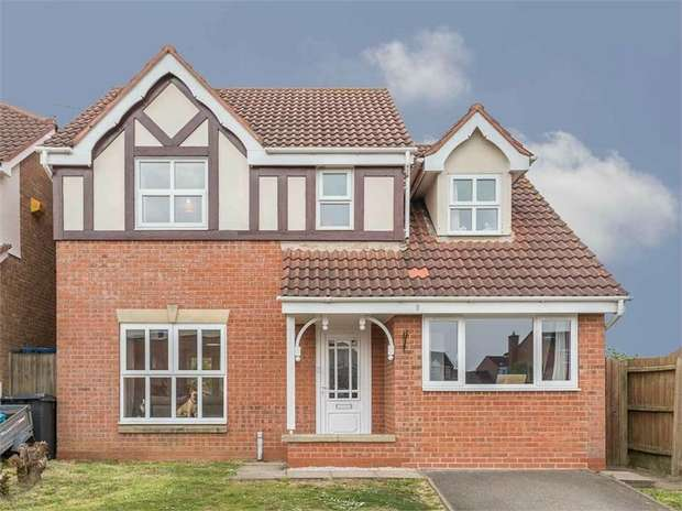 4 Bedrooms Detached House for sale in Rookery Avenue, Sleaford, Lincolnshire