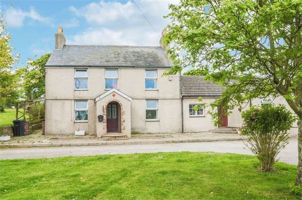 4 Bedrooms Detached House for sale in Caergeiliog, Holyhead, Anglesey