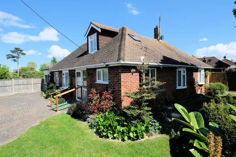 3 Bedrooms Detached Bungalow for sale in Ham Shades Lane, Tankerton, WHITSTABLE, Kent