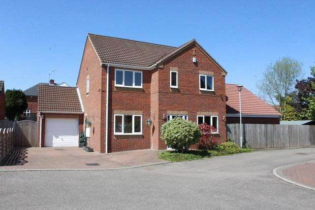 4 Bedrooms Detached House for sale in Jadella Close, Mansfield, NG18