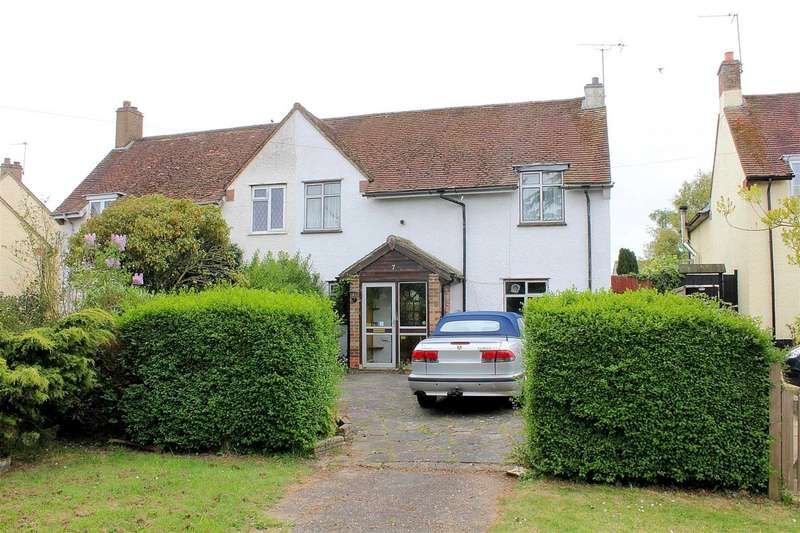 2 Bedrooms Semi Detached House for sale in 2 DOUBLE BED Semi-Detached home in BOVINGDON, HP3