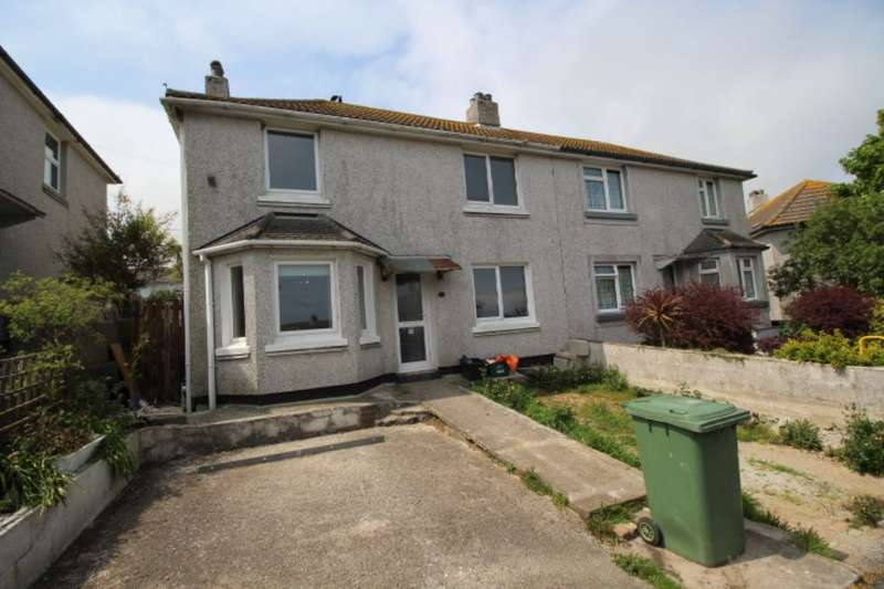 3 Bedrooms Semi Detached House for sale in Treveneth Crescent, Newlyn, Penzance, TR18