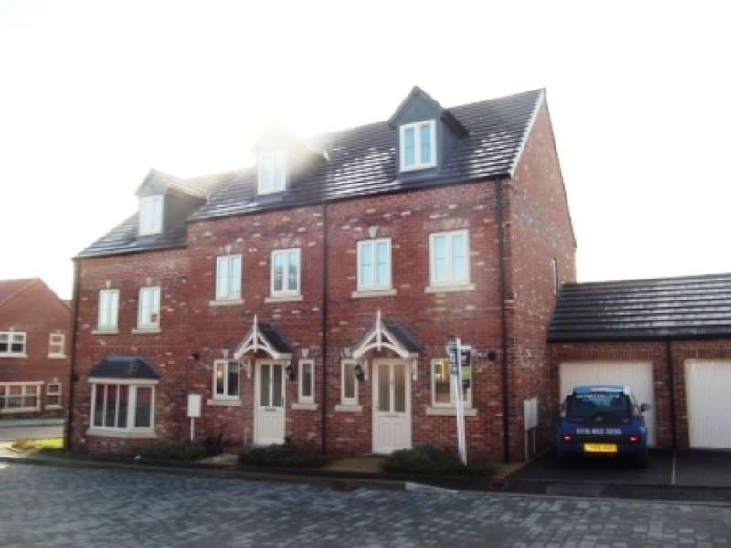 3 Bedrooms Town House for rent in Levertons Place, Hucknall