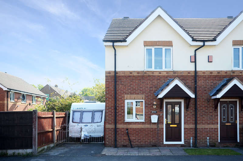 2 Bedrooms Town House for sale in Weston Court, Weston Coyney