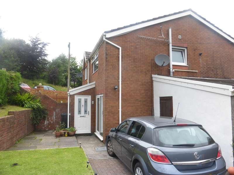 3 Bedrooms Semi Detached House for sale in Llanover Road, Cymmer, PORT TALBOT