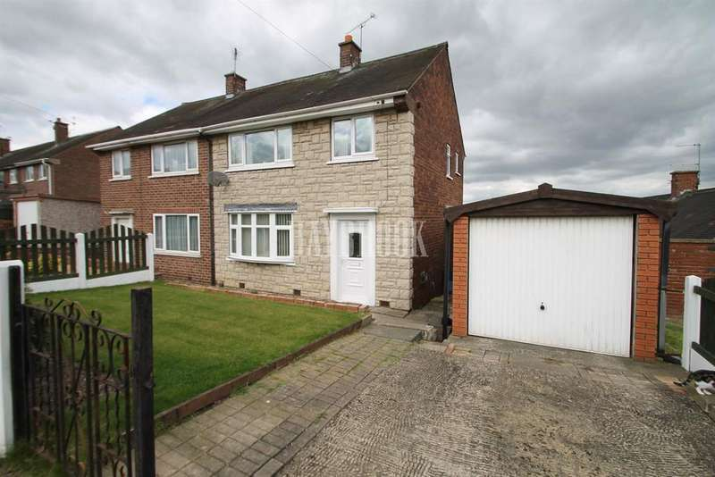 3 Bedrooms Semi Detached House for sale in Roughwood Road, Kimberworth Park