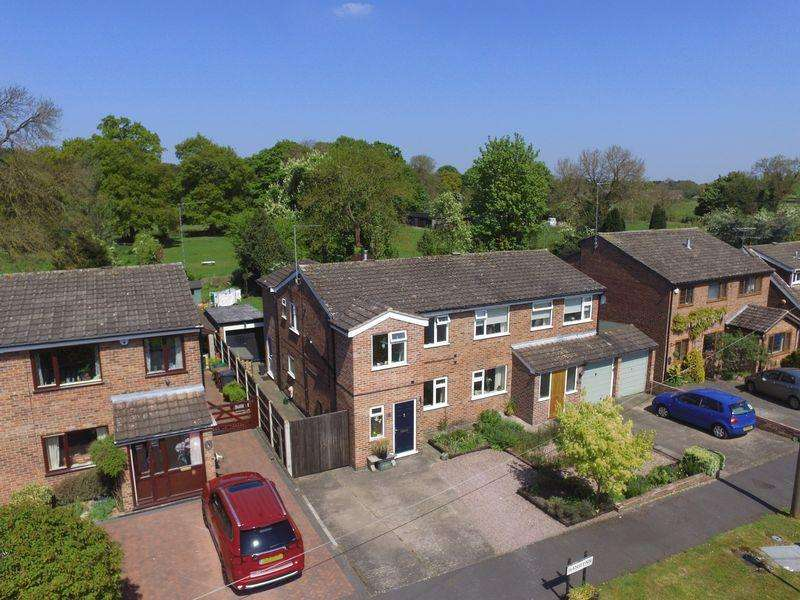 3 Bedrooms Semi Detached House for sale in Hanslynn, Thulston