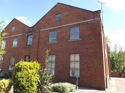 2 Bedrooms Flat for sale in The Foundry, Camlough Walk, Chesterfield, Derbyshire