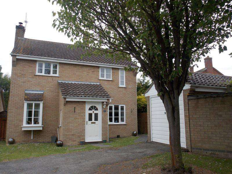 3 Bedrooms Detached House for sale in Chalk Lane, Ixworth