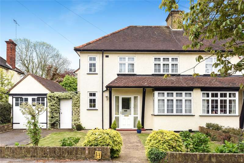 3 Bedrooms Semi Detached House for sale in West Way, Rickmansworth, Hertfordshire, WD3