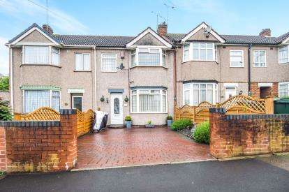 3 Bedrooms Terraced House for sale in Sadler Road, Keresley, Coventry