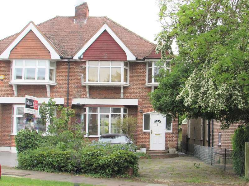 4 Bedrooms Semi Detached House for sale in Grimsdyke Road, Pinner HA5