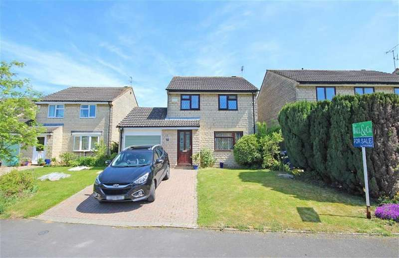 3 Bedrooms Detached House for sale in Pear Tree Close, Woodmancote, Cheltenham, GL52