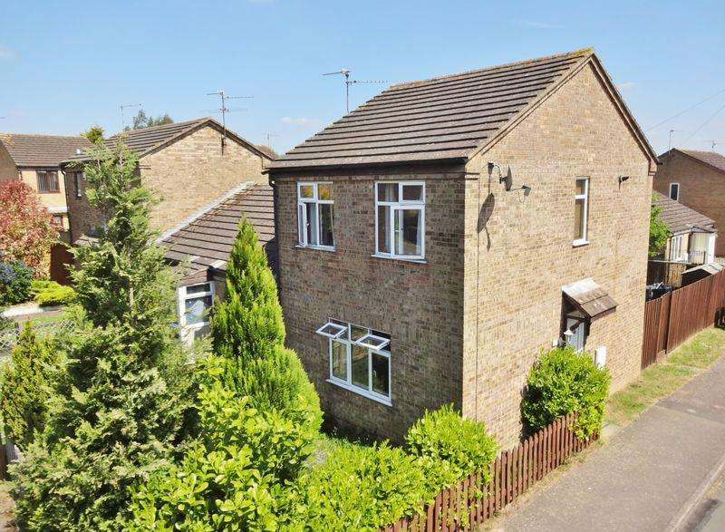 2 Bedrooms End Of Terrace House for sale in Elm Walk, Corby