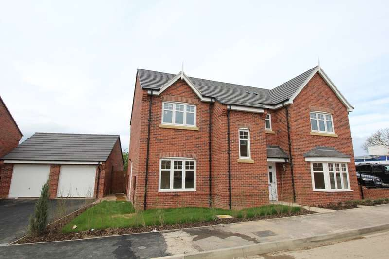 5 Bedrooms Detached House for sale in Thorntree Road, Brailsford, Ashbourne, DE6